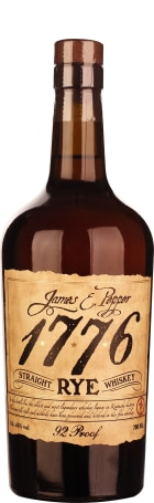 James E. Pepper 1776 Straight Rye 100 Proof 70cl