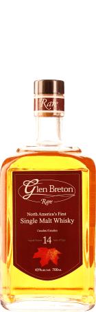 Glen Breton Rare 14 years Single Malt 70cl