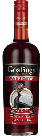 Gosling's Black Seal 151 Proof 70cl