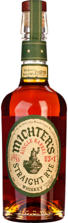 Michter's Straight Rye Whiskey 70cl