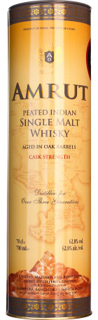 Amrut Peated Indian Cask Strength 70cl