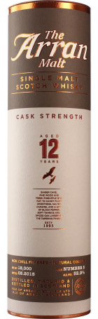 Arran 12 years Cask Strength Batch 5 70cl