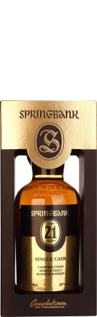 Springbank 21 years Single Cask 70cl