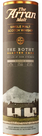 Arran The Bothy Quarter Cask Batch 2 Limited Edition 70cl