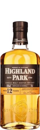 Highland Park 12 years Single Malt 70cl