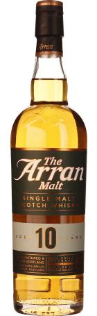 Arran 10 years Single Malt non filtered 70cl