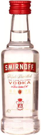 Smirnoff Vodka miniaturen 12x5cl