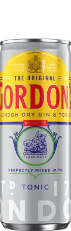 Gordons & Tonic 12x25c