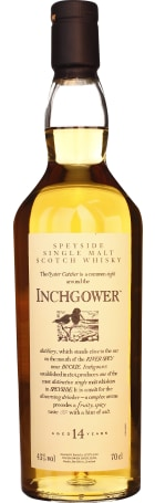 Inchgower 14 years Single Malt 70cl