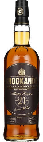 Knockando 21 years 1994 Old Master Reserve Single Malt 70cl