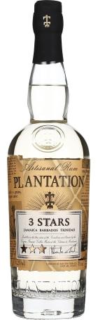Plantation 3 Stars White Rum 70cl