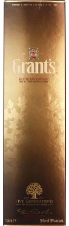 Grant's Distillery Edition - 100% Proof Strength 1ltr