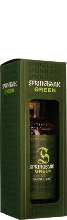 Springbank 12 years Green Single Malt 70cl
