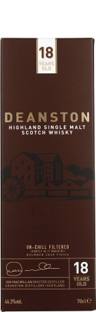 Deanston 18 years unchillfiltered 70cl