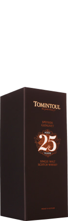 Tomintoul 25 years Single Malt 70cl