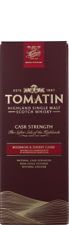 Tomatin Cask Strength 57,5 70cl