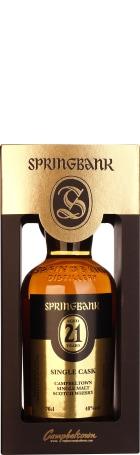 Springbank 21 years Single Cask 70cl