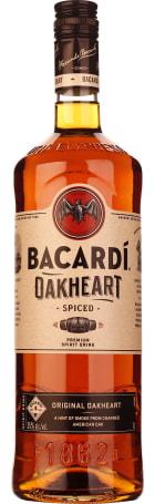 Bacardi Oakheart Spiced Rum 1ltr
