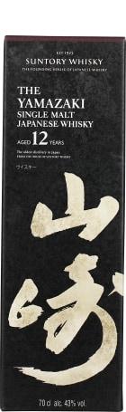Yamazaki 12 years Single Malt 70cl