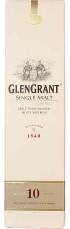 Glen Grant 10 years Single Malt 70cl