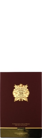 Chivas Regal 38 years Royal Salute - Stone of Destiny 70cl