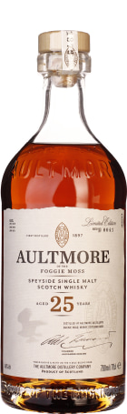 Aultmore Foggie Moss 25 years Single Malt 70cl