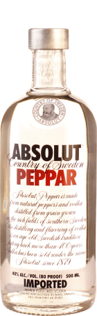 Absolut Peppar 50cl