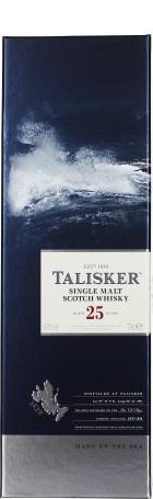 Talisker 25 years Single Malt Non Vintage 70cl