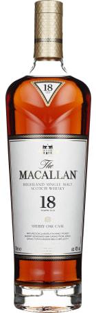 The Macallan 18 years Sherry Oak 70cl