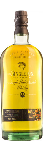 Singleton of Glendullan 38 years Special Release 2014 70cl