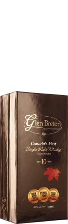 Glen Breton Rare 10 years Single Malt 70cl