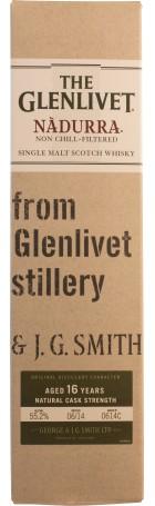 The Glenlivet Nadurra 16 years Natural Cask Strength B#0614C 70cl
