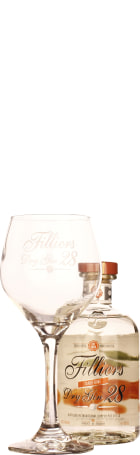 Filliers Dry Gin 28 Perfect Server Tangerine Mediterranean 50cl