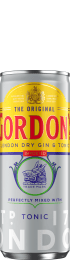 Gordon's & Tonic 12x25c