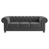 Notting Hill Velvet Chesterfield 3.5 Seater Sofa