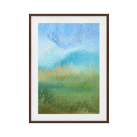 The Watercolour Print