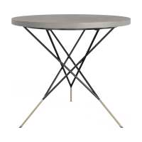 Smeaton Outdoor Round Dining Table
