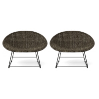 Capri Outdoor 2x Dining Chair