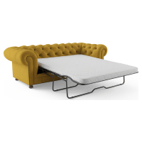 Notting Hill Velvet Chesterfield 3.5 Seater Sofa Bed