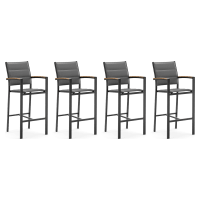 Samui Outdoor Bar Stool Set of 4
