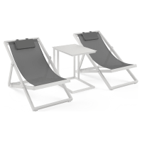 Solana Outdoor Easy Chair Patio Set