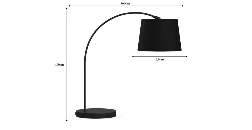 Leo Arc Table Lamp