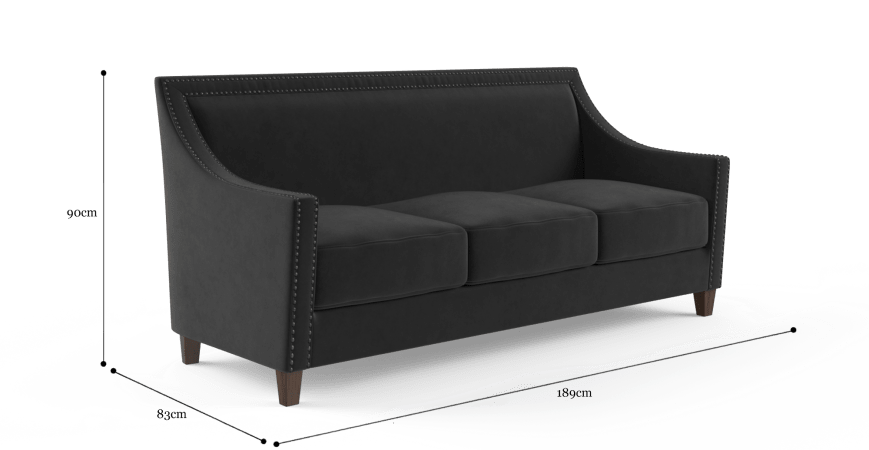 Dianna 3 Seater Sofa