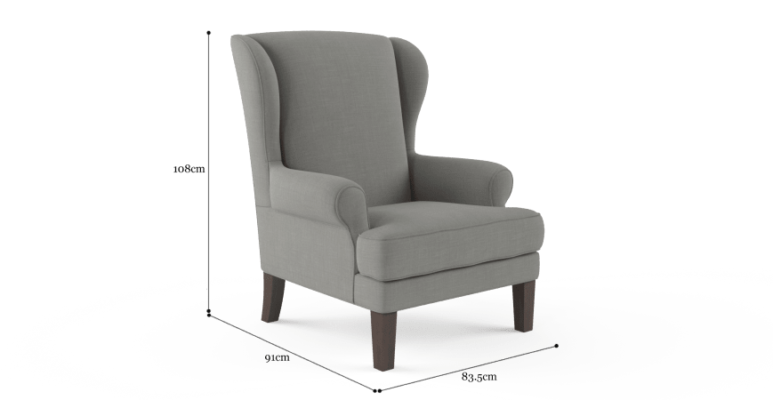 Robert Wingback Armchair