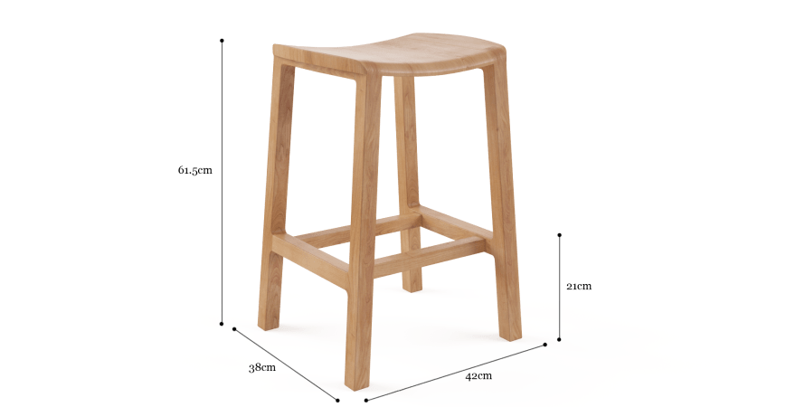 Milly Bar Stool Low