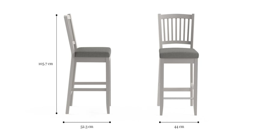 Baker Set of 2 Bar Stools