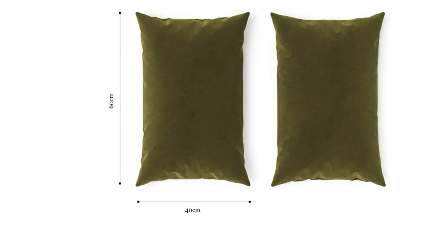 Elementary Cushion Olive Green