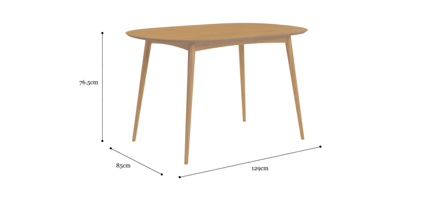 Dining Set Mia Table 4 Chairs
