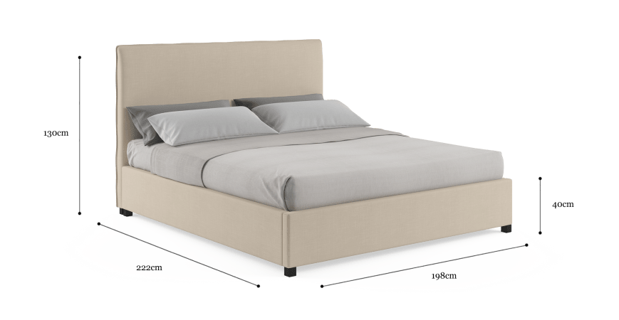 Sara King Gaslift Bedframe