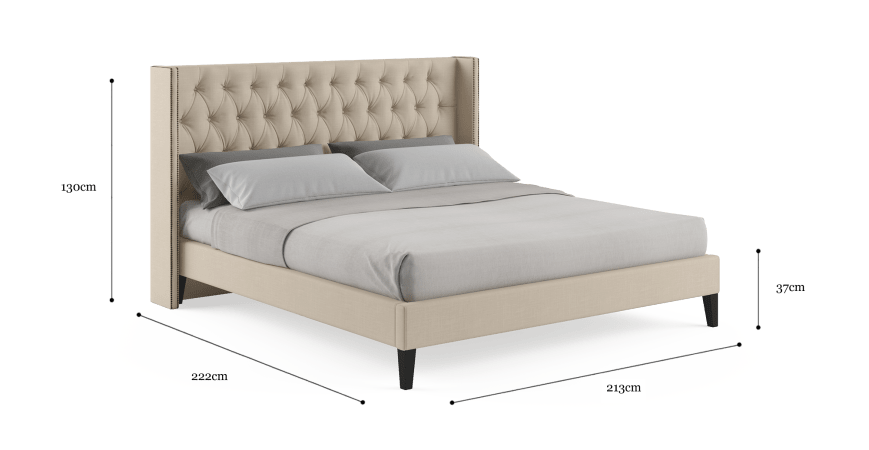 Stella King Slim Bed Frame